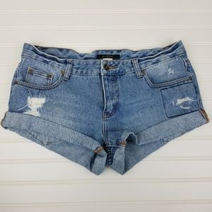 Billabong Cuffed Denim Size 30 Shorts A0617
